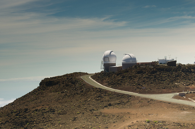 Haleakala Observatory, taken in September 2012