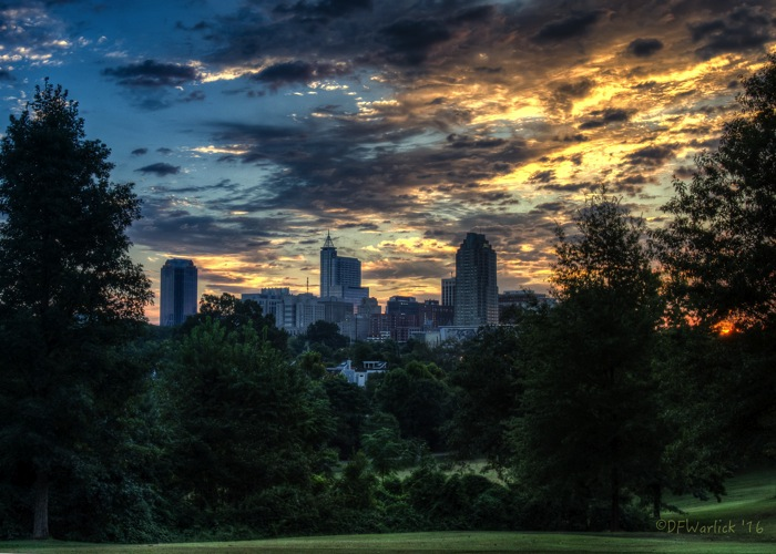 Raleigh in the Sunrise
